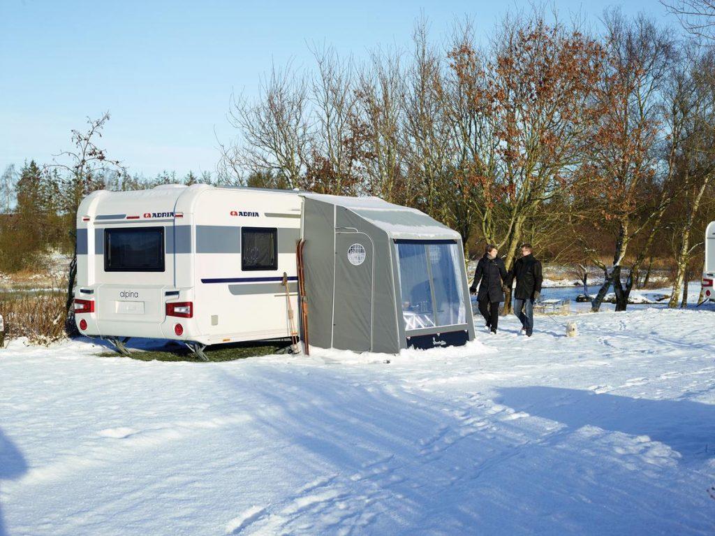 Vintercamping i Sälen är härligt.