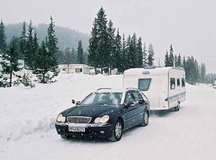 Vintercamping i Trysil