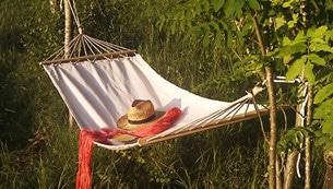 Hängmattan kan kännas rätt på semestern, likväl som en aktivitetsfylld semester.