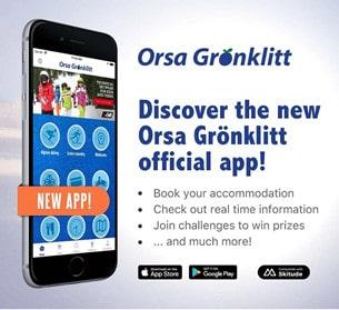 Den kostnadsfria appen är den första i sitt slag i Sverige, och är tidigare bara använd på några av de större turistorterna i alpvärlden.