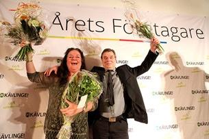 Årets Företagare i Kävlinge Kommun år 2015!
