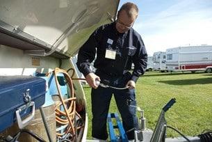 Eftersom gasolkontroll inte längre är obligatoriskt är det klokt att göra i samband med besiktningen.