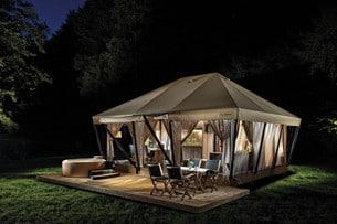 De mobila hemmen och tälten är på uppgång.