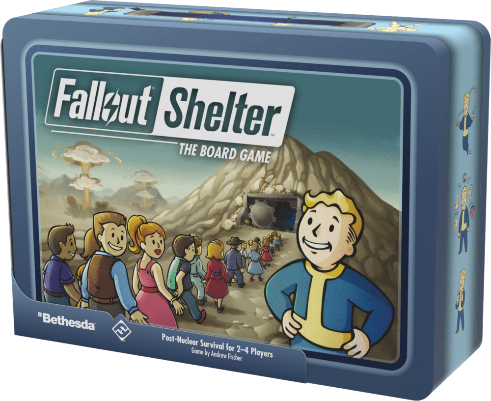 Fallout Shelter the Board Game.