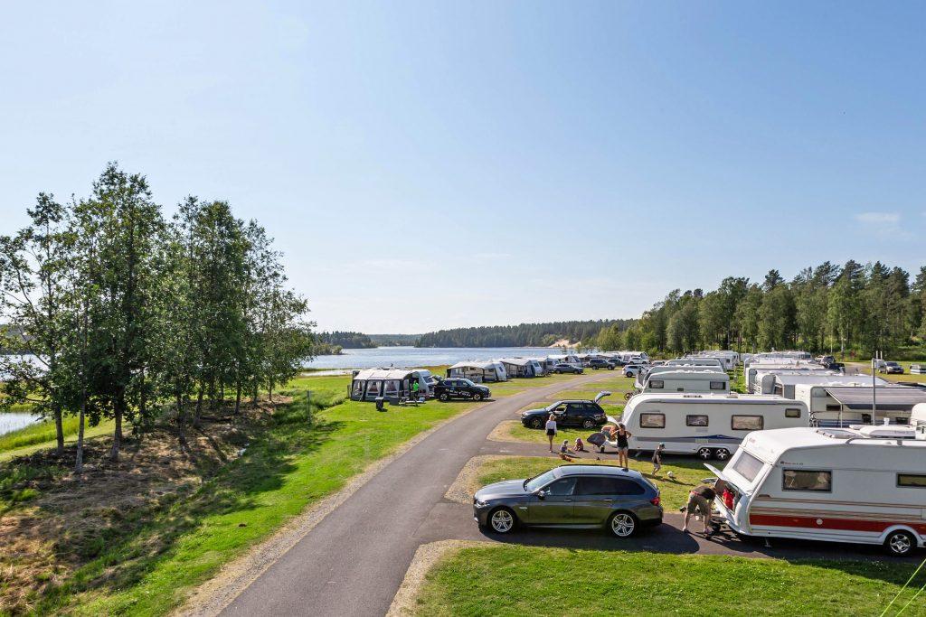 Svenskar räddade campingsommaren
