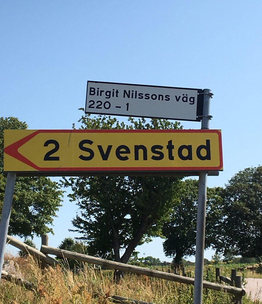 La Nilsson glömde aldrig sitt Svenstad.