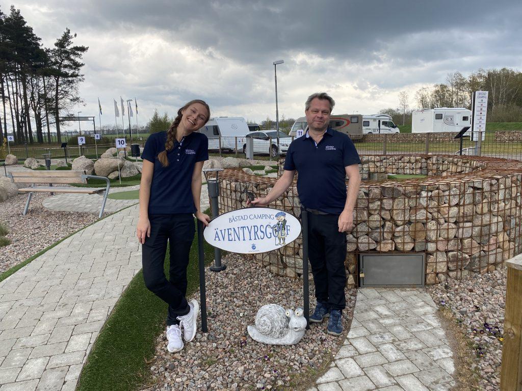 Mikael Mathiasson driver campingen sedan 2013 tillsammans med sin fru Gunilla och hennes dotter Nicolin.