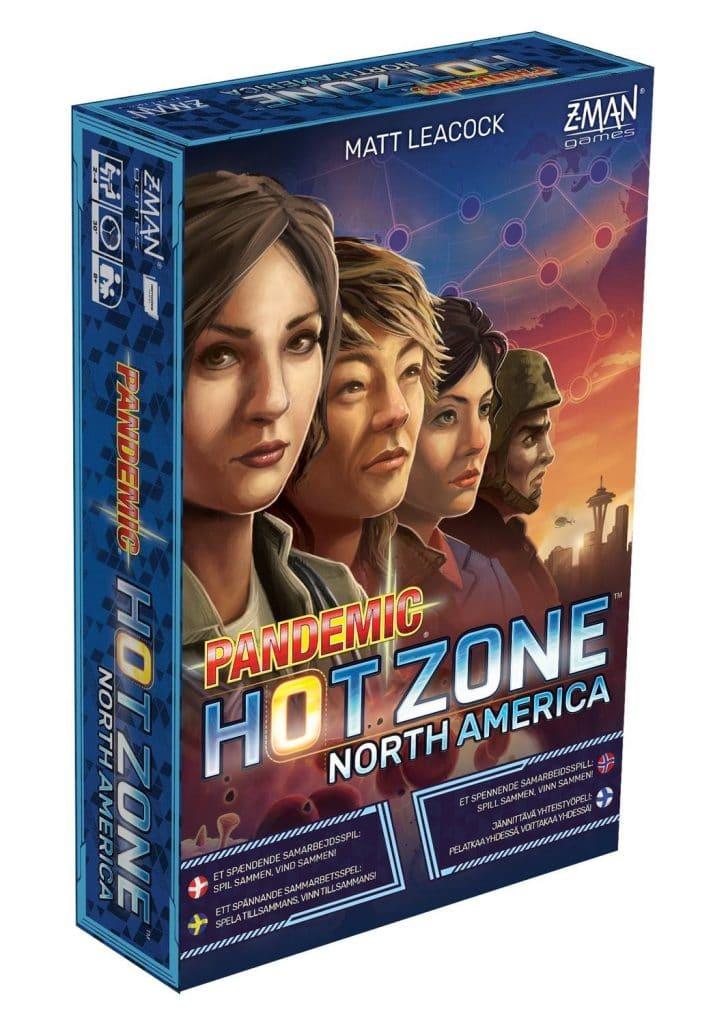 Pandemic Hot Zone: North America