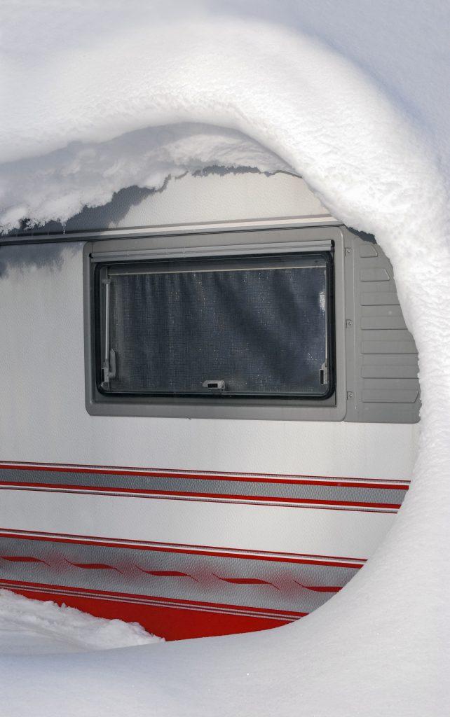 Caravan Club har många vinteröppna campingplatser, bland annat i Tandådalen.