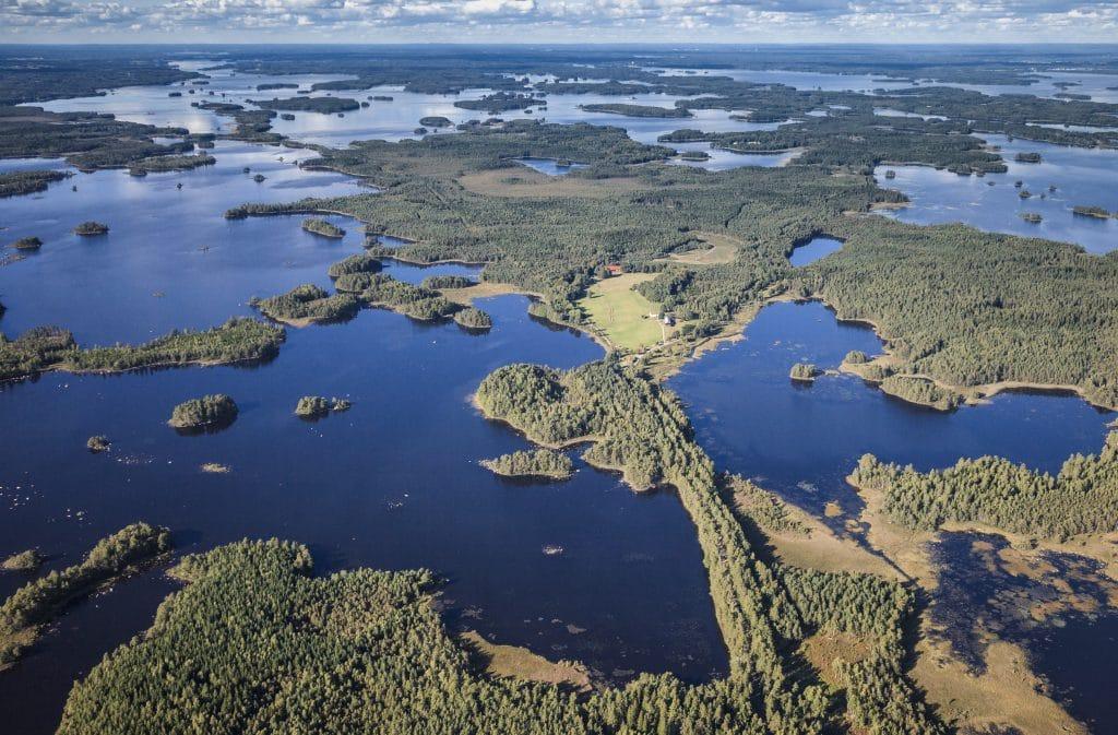 Åsnen - ett mikrokosmos av Sverige.