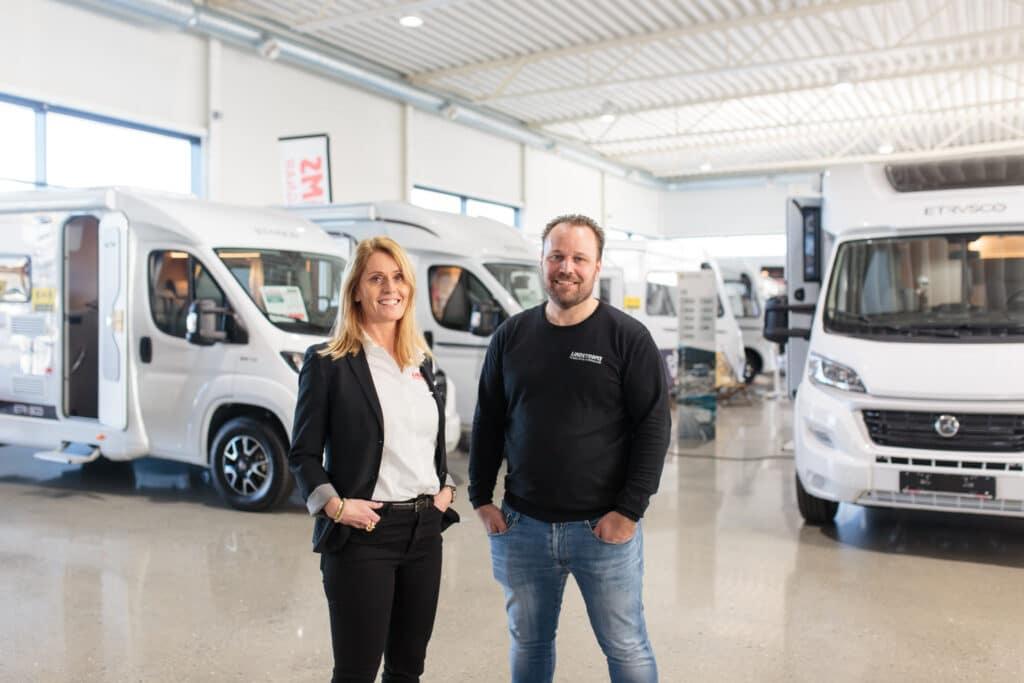 John och Cecilia Lindström har upplevt en stark utveckling de senaste åren.