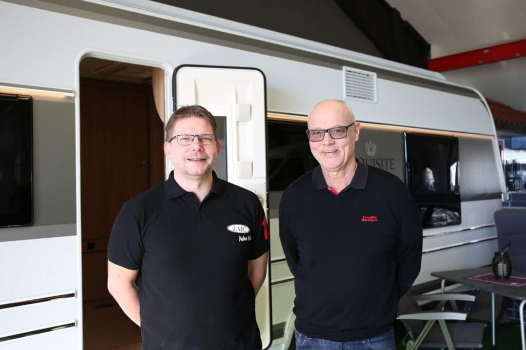 Ingvar Grenander och Peter Pettersson satsar stort på LMC under året.