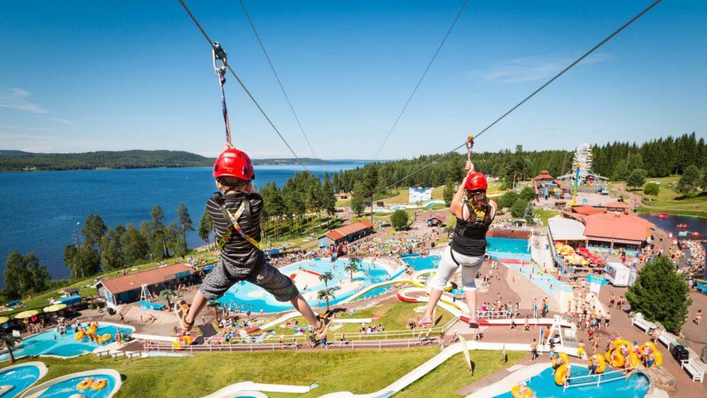 Kul aktiviteter för hela familjen på Leksand Sommarland.