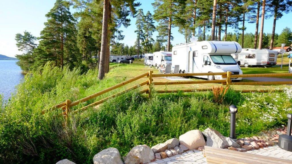 Sverige har fått en ny femstjärnig campingplats i Leksand Strand.