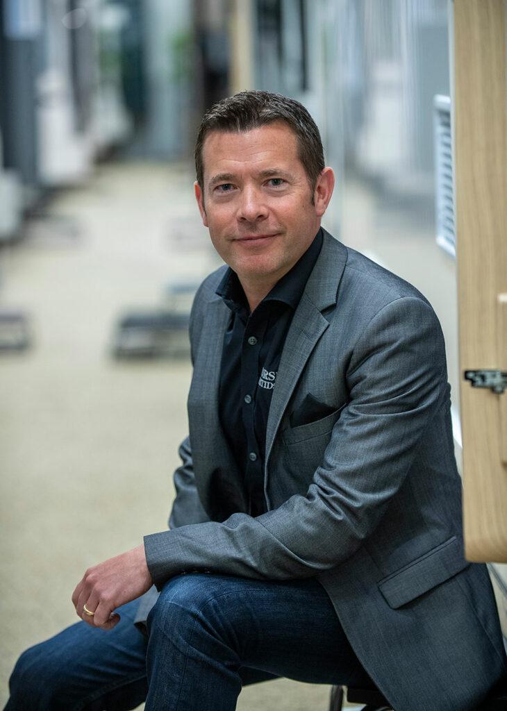 Jonas Karlsson, VD på Forsbergs Husbilscenter.
