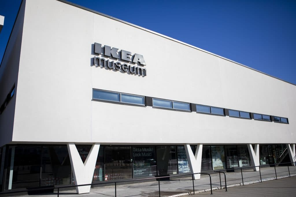 Första Ikeavaruhuset i världen är nu ett museum.
