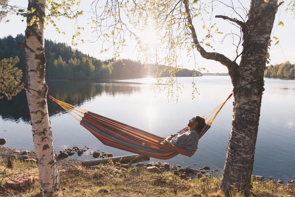 Granö Beckasin ligger utmed vackra Umeälven, 47 mil lång och därmed en av de stora Norrlandsälvarna.