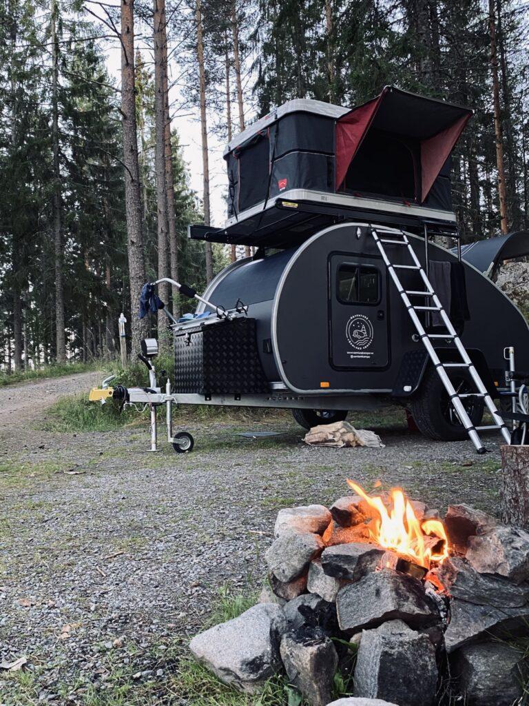 Rullande campingäventyr i Värmland.