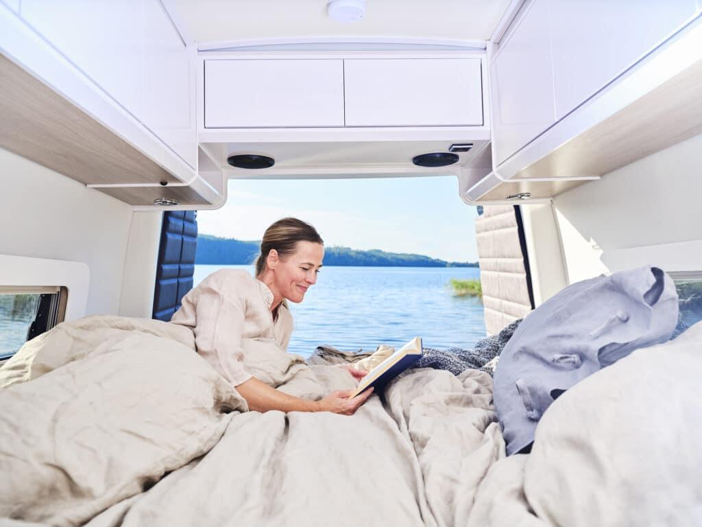 Kabes nya Van har dubbelisolerat utrymme mellan karossgolv och bodelsgolv.