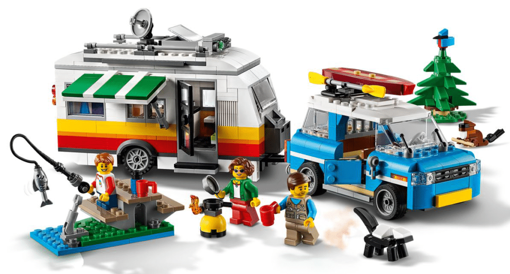 Lego husvagnssemester