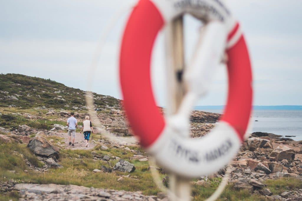 Vandra längs Prins Bertils arton kilometer långa stig.