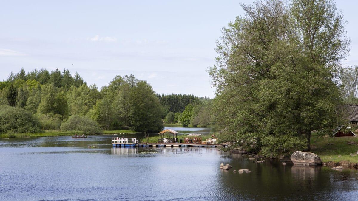 Praktfull natur med djupa skogar, åar och sjöar väntar dig när du besöker Nordöstra Skåne.