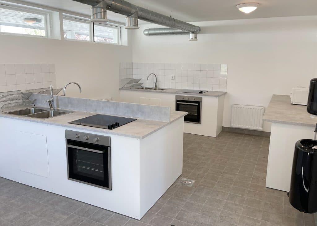 Trelleborg Strand har kompletterats med ett helt nytt servicehus.