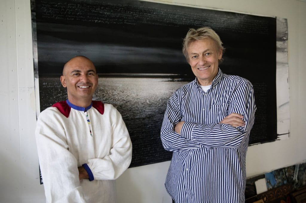 Paret Lerin, Manoel Marques och Lars, är på plats i museet nästan dagligen.