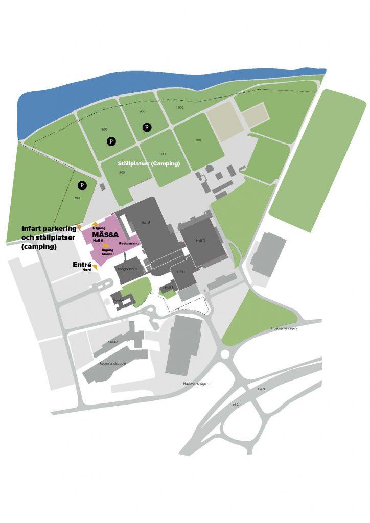 Mässan hålls i Hall A den 4-12 september.