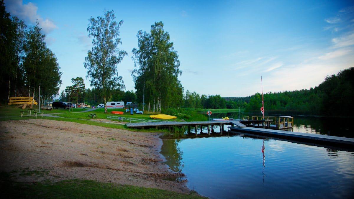 Hornåbergs camping en pärla i Östergötland.