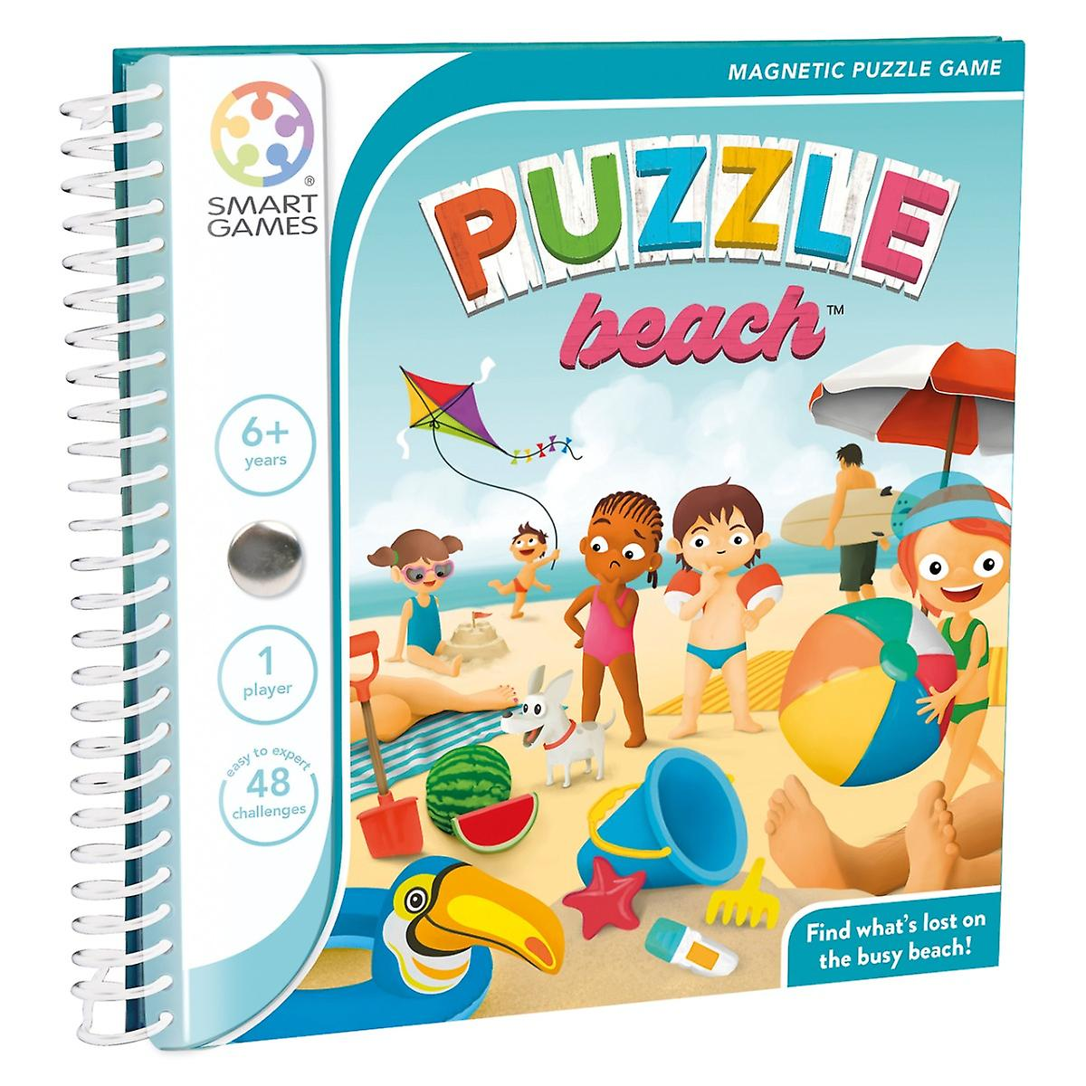 Puzzle beach.