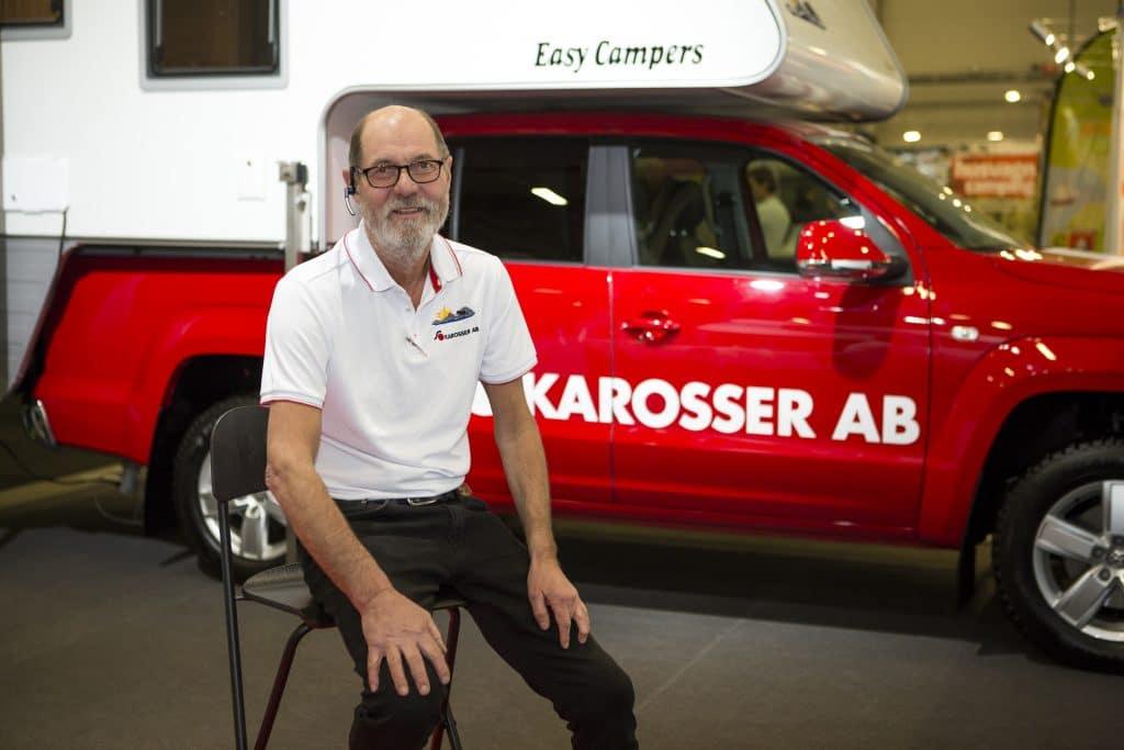 Ulf Sellgren från S karosser har byggt specialhusbilar och campers i över 35 år.