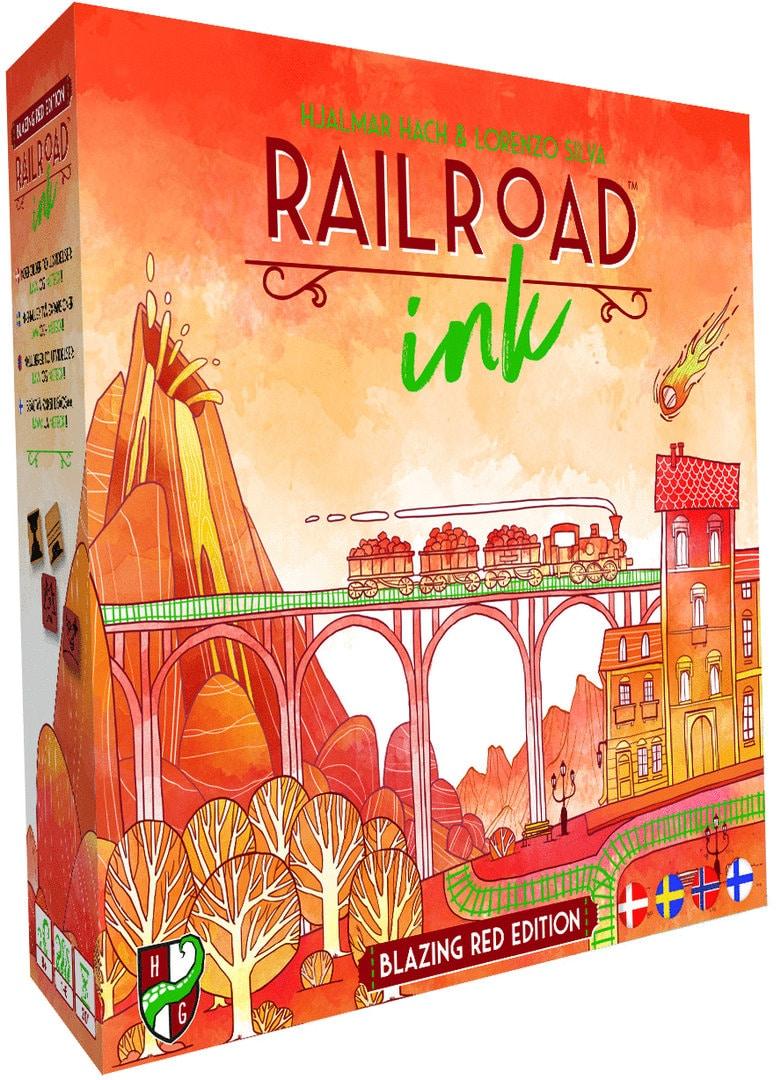 Railroad ink.