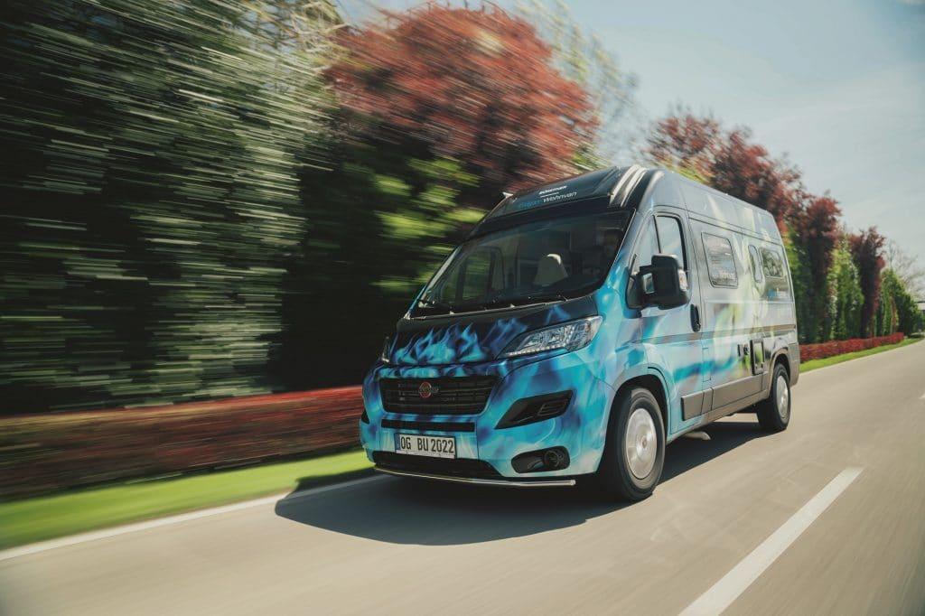 Hybridbilen Eliseo CNG har en räckvidd på 40 mil.