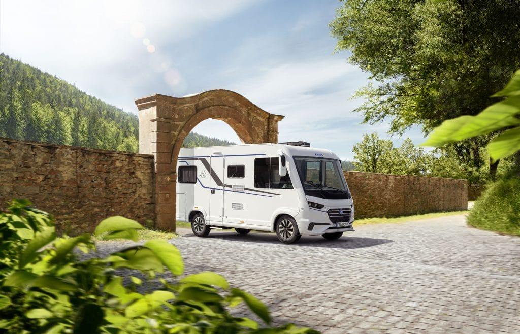 Kompakta och smala VAN I 550 MF är smidig på mindre vägar.